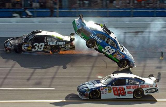 racing car accidents