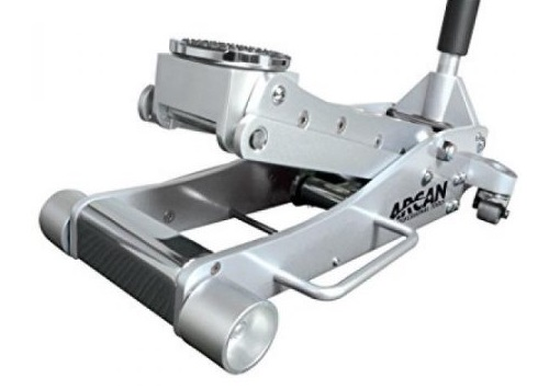 Arcan ALJ3T Aluminum Floor Jack On White Background