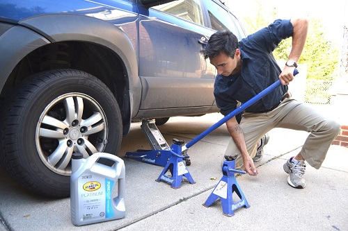 Using Jack Stands