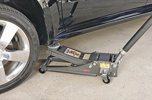 The Pittsburgh Floor Jack Under The Car